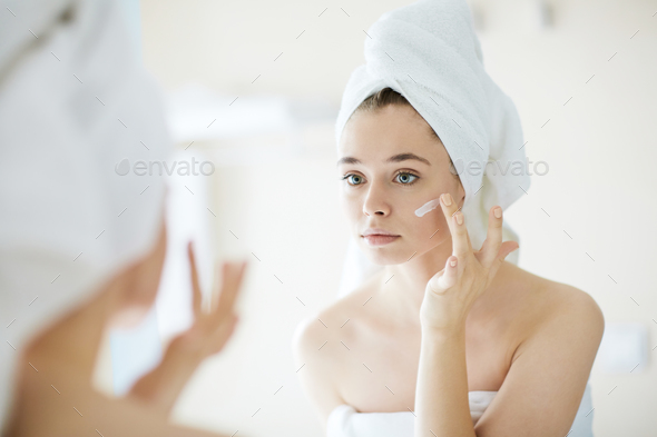 Moisture for skin - Stock Photo - Images