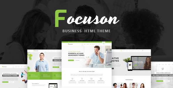 Focuson - Business HTML Theme - Business Corporate