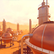 Modern Industrial Complex of Oil Refinery - VideoHive Item for Sale