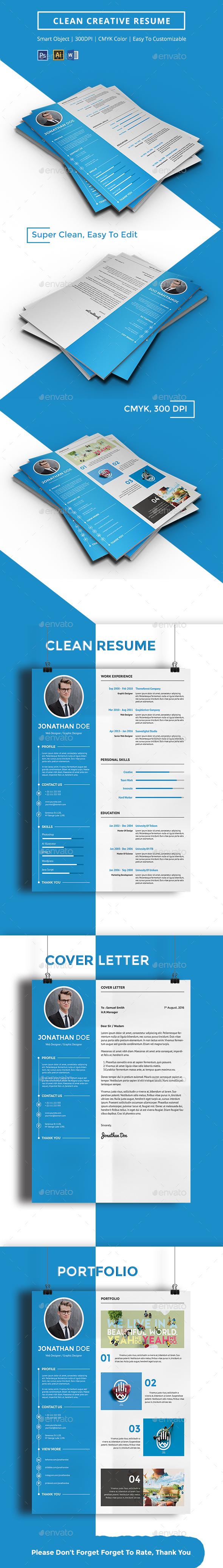 Clean Creative Resume