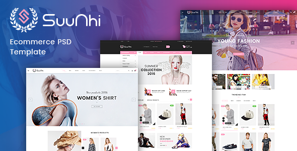 Suunhi – eCommerce PSD Template