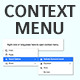 Native JavaScript Context Menu - CodeCanyon Item for Sale