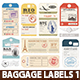 Luggage Tags - GraphicRiver Item for Sale