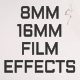 8MM - 16MM Film Effects - VideoHive Item for Sale