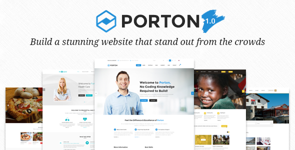 Porton – Responsive MultiPurpose WordPress Theme