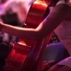 Concert, a Woman In a Short Dress Playing The Cello. - VideoHive Item for Sale