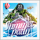 Island Summer Party Flyer - GraphicRiver Item for Sale
