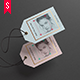 Paper Label / Swing Tags Mock-up - GraphicRiver Item for Sale