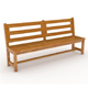 Lurong Bench - 3DOcean Item for Sale