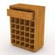 Mini Rack 1 Drawer - 3DOcean Item for Sale