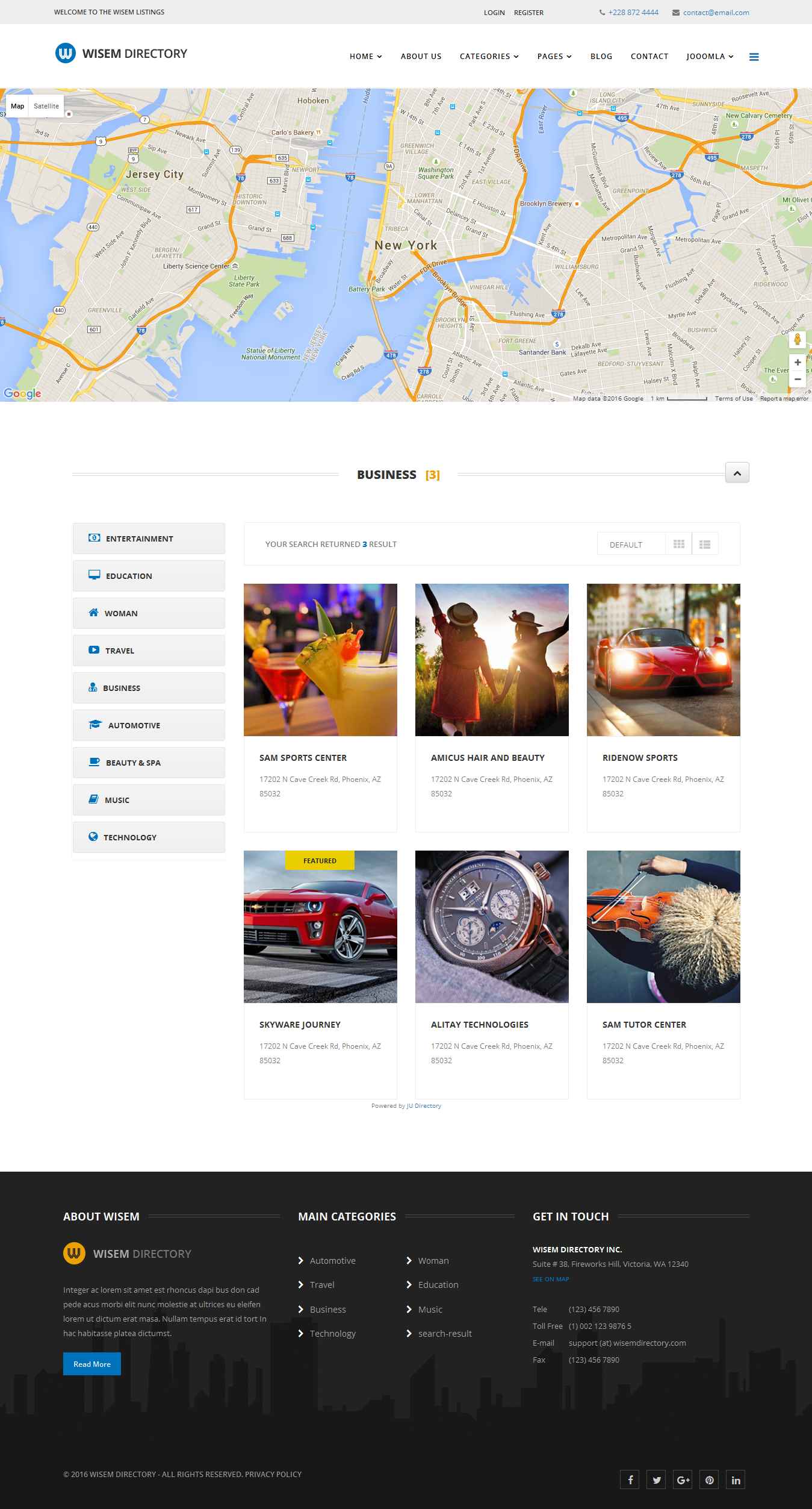 Wisem responsive directory template for joomla by dasinfomedia wisem responsive directory template for joomla cheaphphosting Image collections