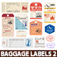 World Luggage Tags Set 2 - GraphicRiver Item for Sale