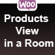 Woocommerce Products View in a Room Popup