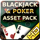 Poker and Blackjack Asset Pack - GraphicRiver Item for Sale