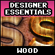 Designer Essentials Ultimate Wooden Styles Vol.1 - GraphicRiver Item for Sale