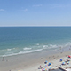 Aerial of Myrtle Beach Shoreline  - VideoHive Item for Sale