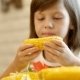 Little Girl Eats a Boiled Corn - VideoHive Item for Sale