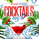 Cocktails Night Flyer V4 - GraphicRiver Item for Sale
