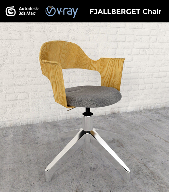 FJALLBERGET Chair - 3DOcean Item for Sale