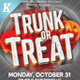 Halloween Trunk or Treat Flyer Templates - GraphicRiver Item for Sale