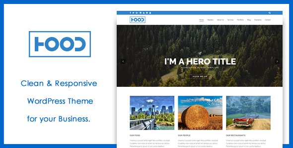 Hood – Responsive WordPress Theme