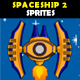 Spaceship 2 Sprites - GraphicRiver Item for Sale