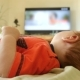 Baby Boy Watching TV At Home - VideoHive Item for Sale