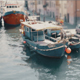 Fishing Boats docked at the Pier - VideoHive Item for Sale