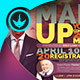 Man Up Church Conference Flyer Template