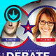 Political Debate Flyer Template - GraphicRiver Item for Sale