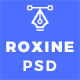 Multi Purpose Creative Agency Portfolio PSD Template - Roxine - ThemeForest Item for Sale