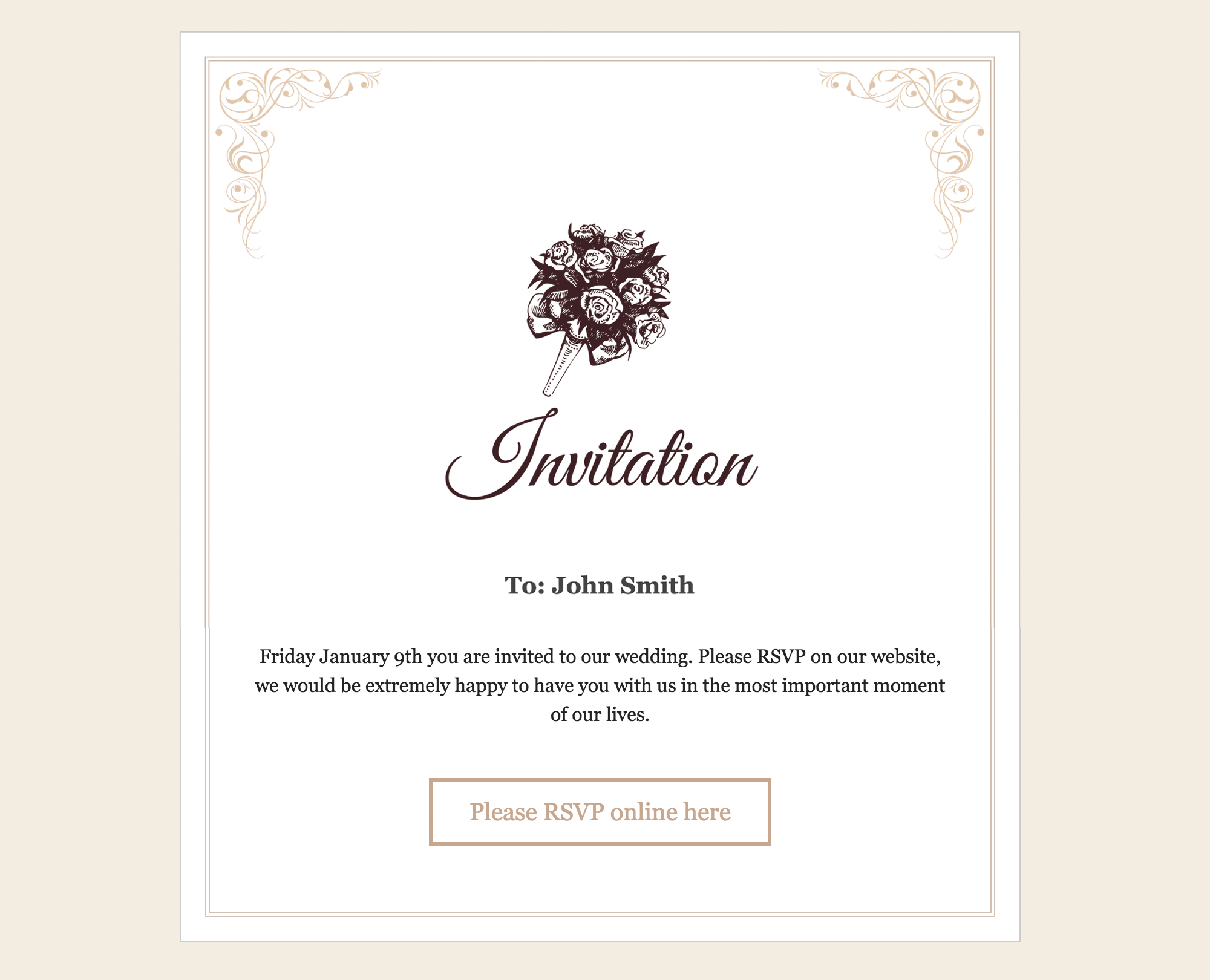 RSVP and Wedding Invitation WordPress Plugin by CraftedPixels ...