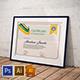 Multipurpose Certificate GD048 - GraphicRiver Item for Sale