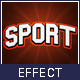 Sport Text Effects Mockup - GraphicRiver Item for Sale
