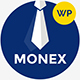 Monex - Money Exchange & Finance Business WordPress Theme Nulled