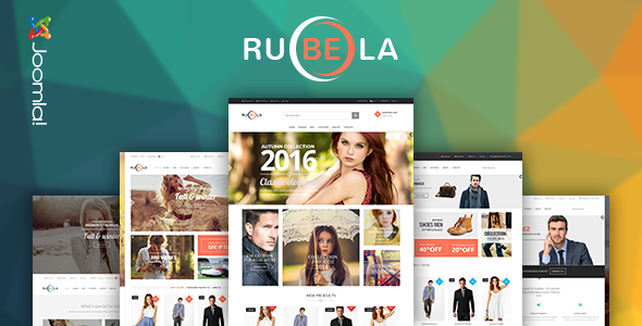 Vina Rubela – Multipurpose VirtueMart Joomla Template