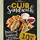 Food Promotion Flyer Poster - GraphicRiver Item for Sale