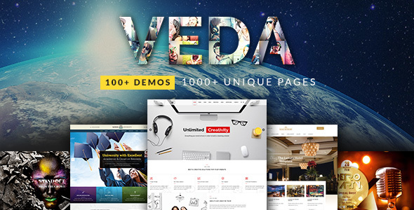VEDA | Multi-Purpose Theme