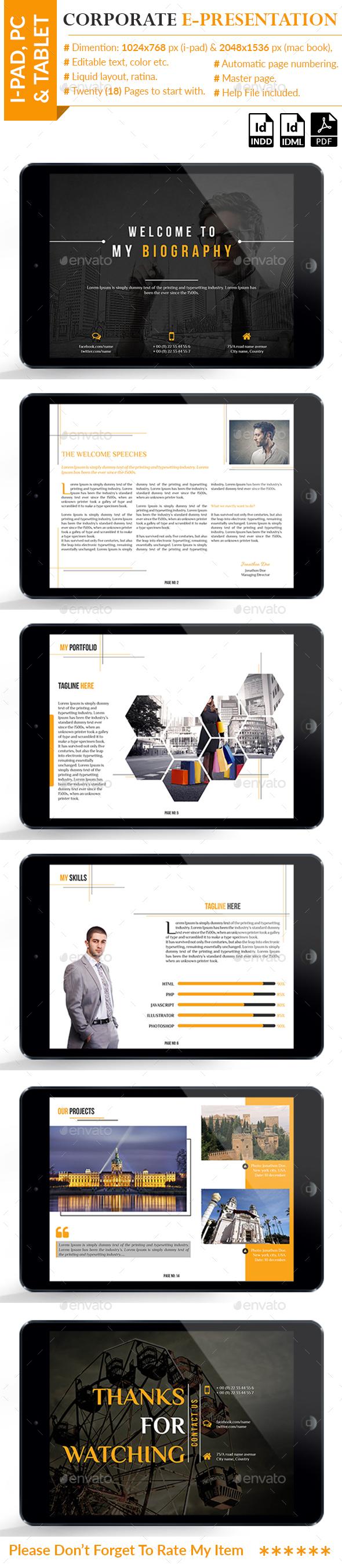 Corporate E-Presentation - ePublishing