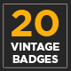 20 Vintage Logo Collection Volume 2 - GraphicRiver Item for Sale