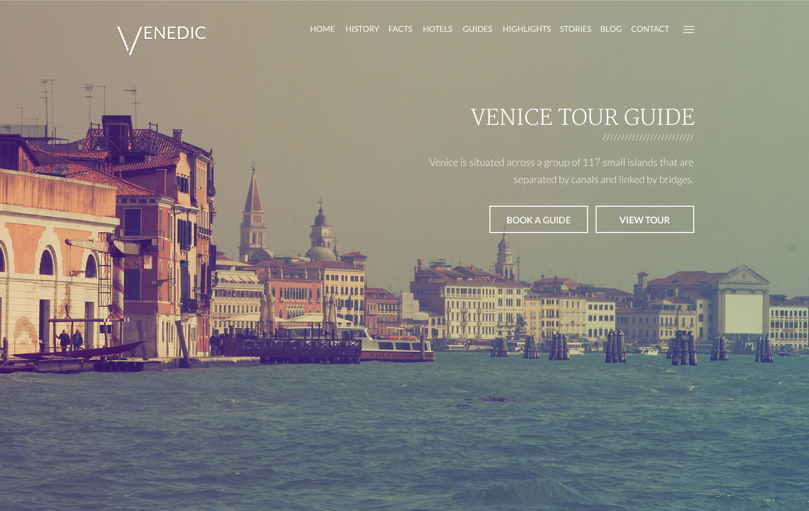 Venedic tour guide psd template by themfy themeforest venedic psd template 00g pronofoot35fo Image collections