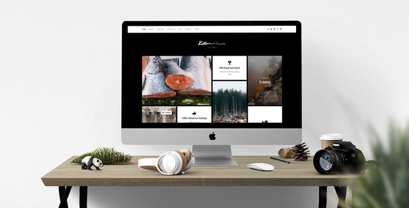 Killeen – A Contemporary Portfolio for Photographers with Shop