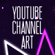 Youtube Channel Art Banner - GraphicRiver Item for Sale
