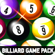 Billiard Game Pack with GUI - GraphicRiver Item for Sale