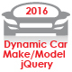 Dynamic Car Make/Model 2016 - jQuery