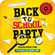 Back to School Flyer PSD - GraphicRiver Item for Sale
