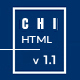 CHI - Responsive Creative HTML Template - ThemeForest Item for Sale