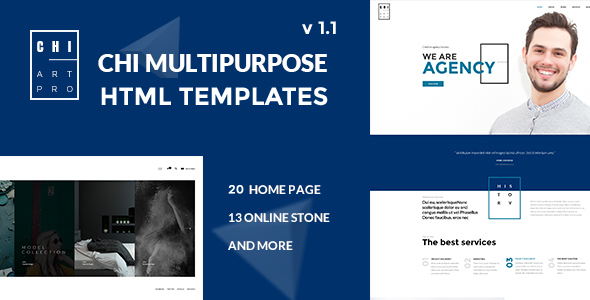 CHI - Responsive Creative HTML Template - Creative Site Templates