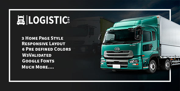 Logistic Pro – Cargo, Shipping, Warehouse, Logistic & Transport Template
