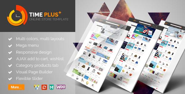TimePlus – Mega Store Responsive WooCommerce Theme